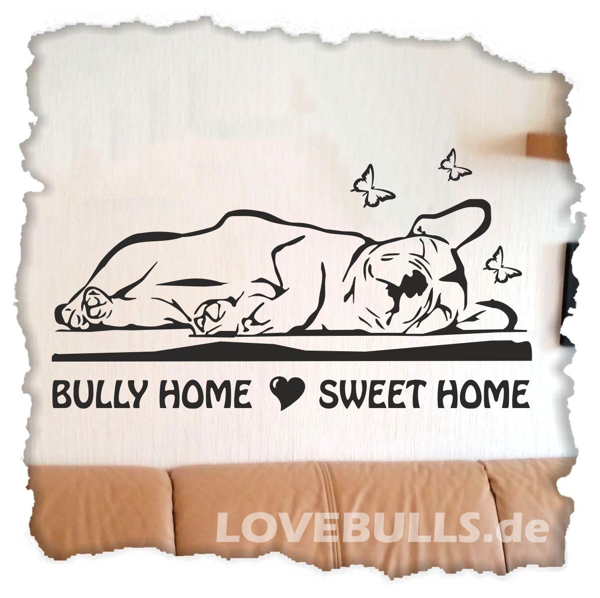 """Amüsant Wandtattoo Home Sweet Home Dekoration Von – """"sweet Home"""" Französische Bulldogge Größe: 600"""