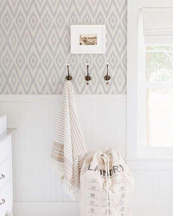 Neutral Colors For Small Powder Rooms: Nice Laundry Room. Love The Neutral Colors, Bead Board
