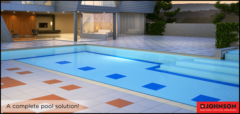 Give your pool that extra edge with ‪#‎EnduraTile‬ range that has variants for leisure, private and competition #pool.