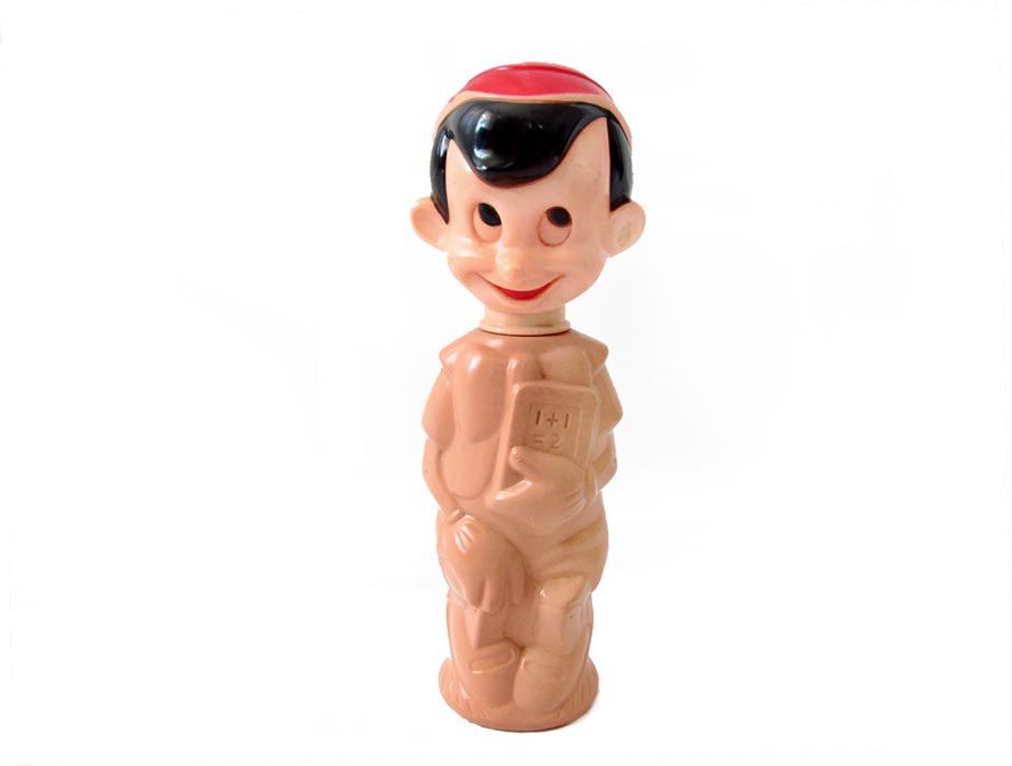 Pinocchio Soaky Bottle Walt Disney Productions Colgate Palmolive ...