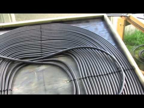 How To Build A Solar Pool Heater Part 1 Solar Pool Heater Solar Pool Pool Heater