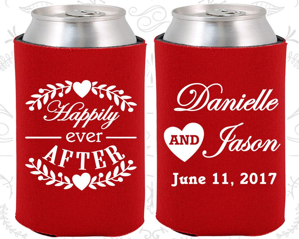 Happily Ever After, Personalized Wedding, Floral Wedding Favors ...