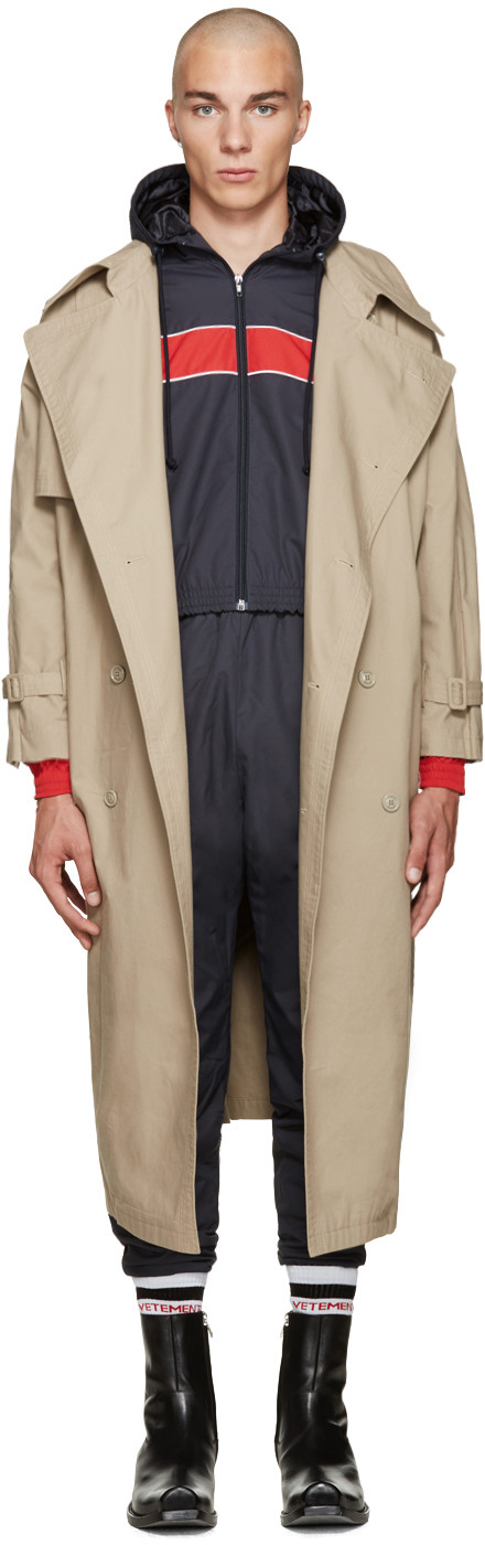Pin On Ssense, Oversized Trench Coat Mens