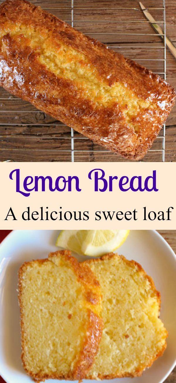 Best Homemade Lemon Bread