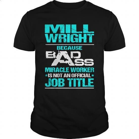 MILL WRIGHT - BADASS - #gift wrapping #hoodie
