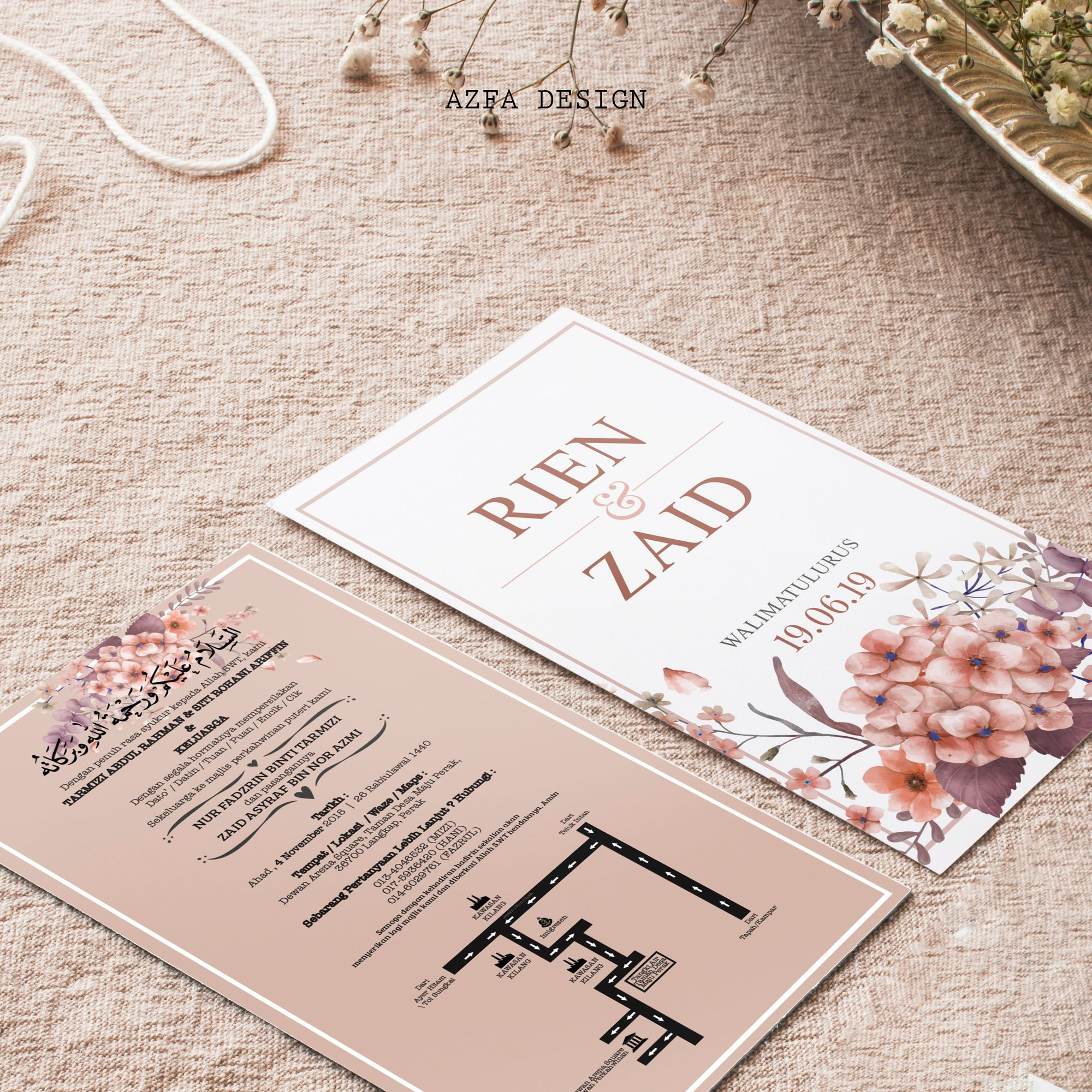 Eh Taknak Ke Kad Kahwin Korang Nampak Special Bila Sampai Ditangan Tetamu Tetamu Korang Wedding Invitation Cards Wedding Cards Wedding Background Decoration