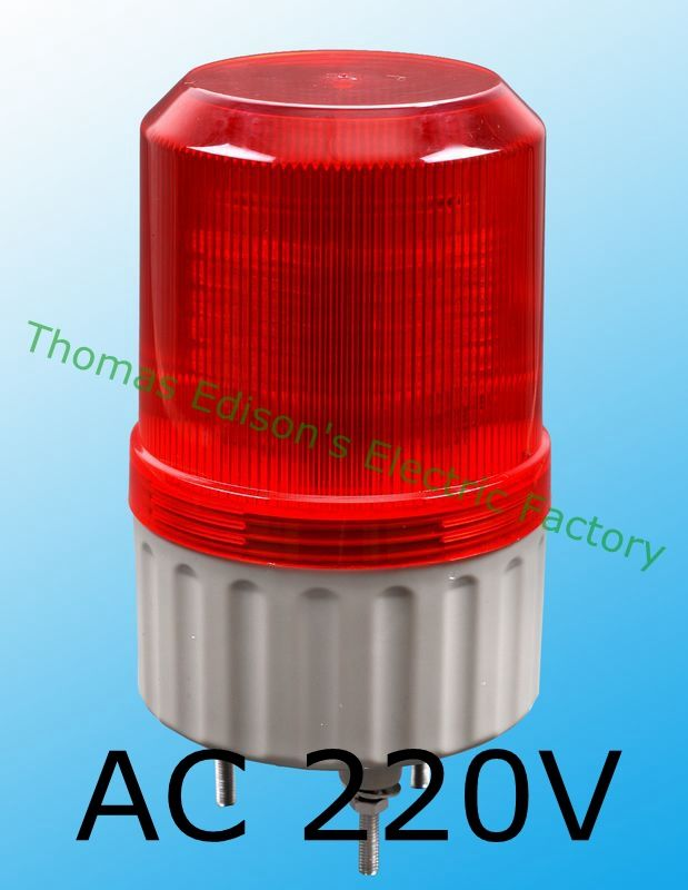 Lte 1081 Ac 220v Led Rotating Industrial Signal Tower Warning Light Without Buzzer Red Yellow Blue Green S 80 Indic Warning Lights Indicator Lights Tower Light