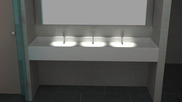 Bathroom Trough Sinks Vanity Thrislington Education