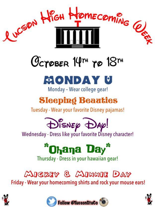 Spirit Week Ideas Homecoming Google Search School Spirit Week Homecoming Spirit Week Homecoming Spirit