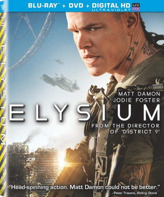 #amazon Elysium (UltraViolet Digital Copy) [Blu-ray] - $9.99 (save 63%) #elysium #mattdamon #sony