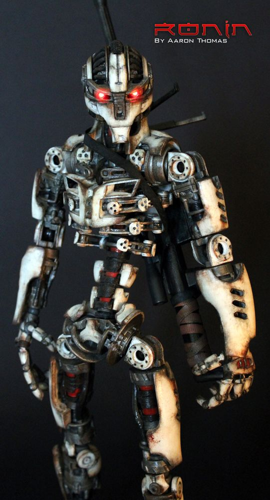 RONIN by Aaron Thomas A 3D Printed Action Figure Scifi