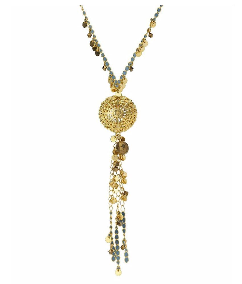 A most skillfully designed gold plated pendant exquisite gold