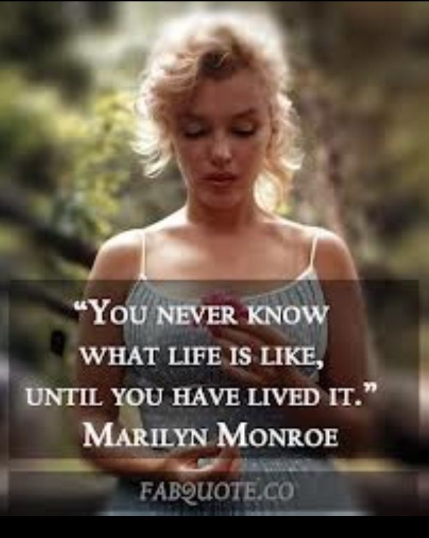 Citaten Marilyn Monroe Meninggal : Marilyn monroe quote things that make you say hmmmm