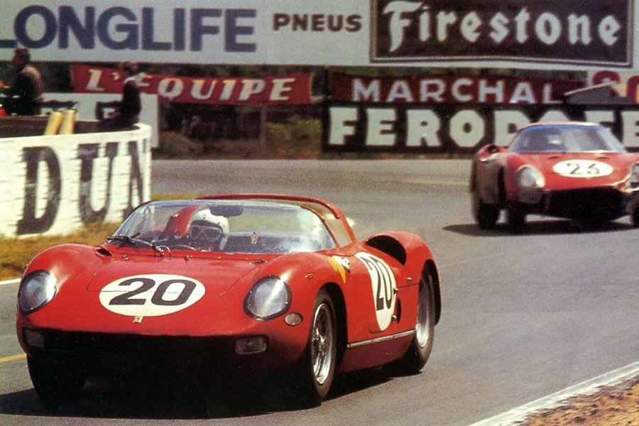 24 heures du Mans 1964 - Ferrari 275P #20 - Pilotes  Jean Guichet