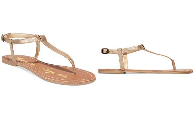 feb6684662b3e American Rag Krista T-Strap Flat Sandals