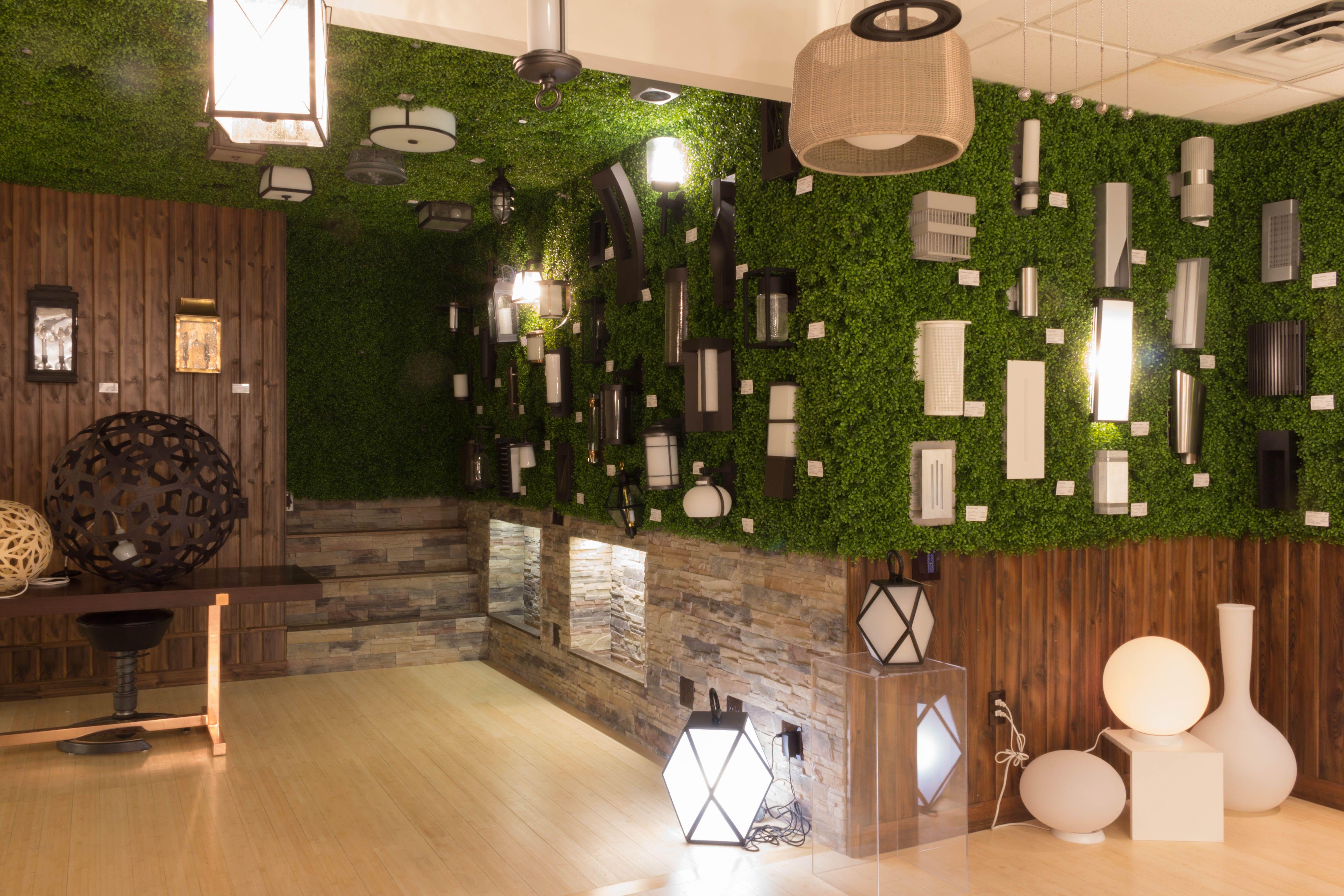 Indoor Garden Lighting Part - 50: Our New Indoor Outdoor Lighting Display