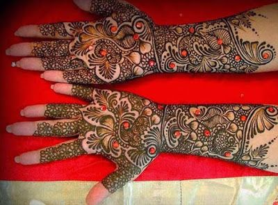 Mehndi Design For Bridal Collection : Best mehndi design gujarati bridal designs latest
