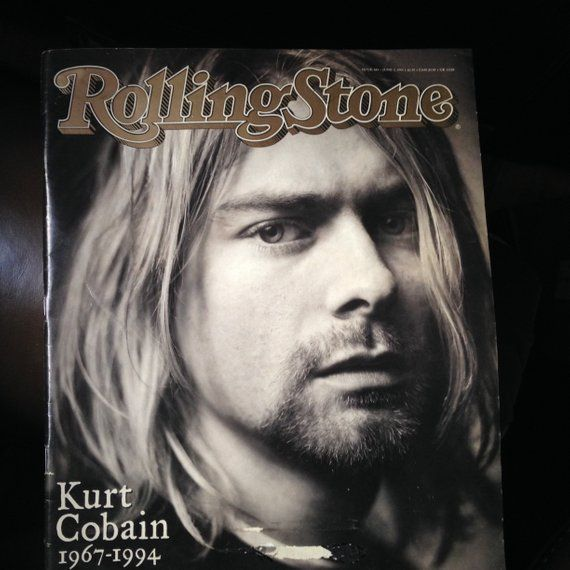 Kurt Cobain, Rolling Stone Magazine June 1994 -- 38 Pages Devoted to Rock 'n Roll Nirvana Icon
