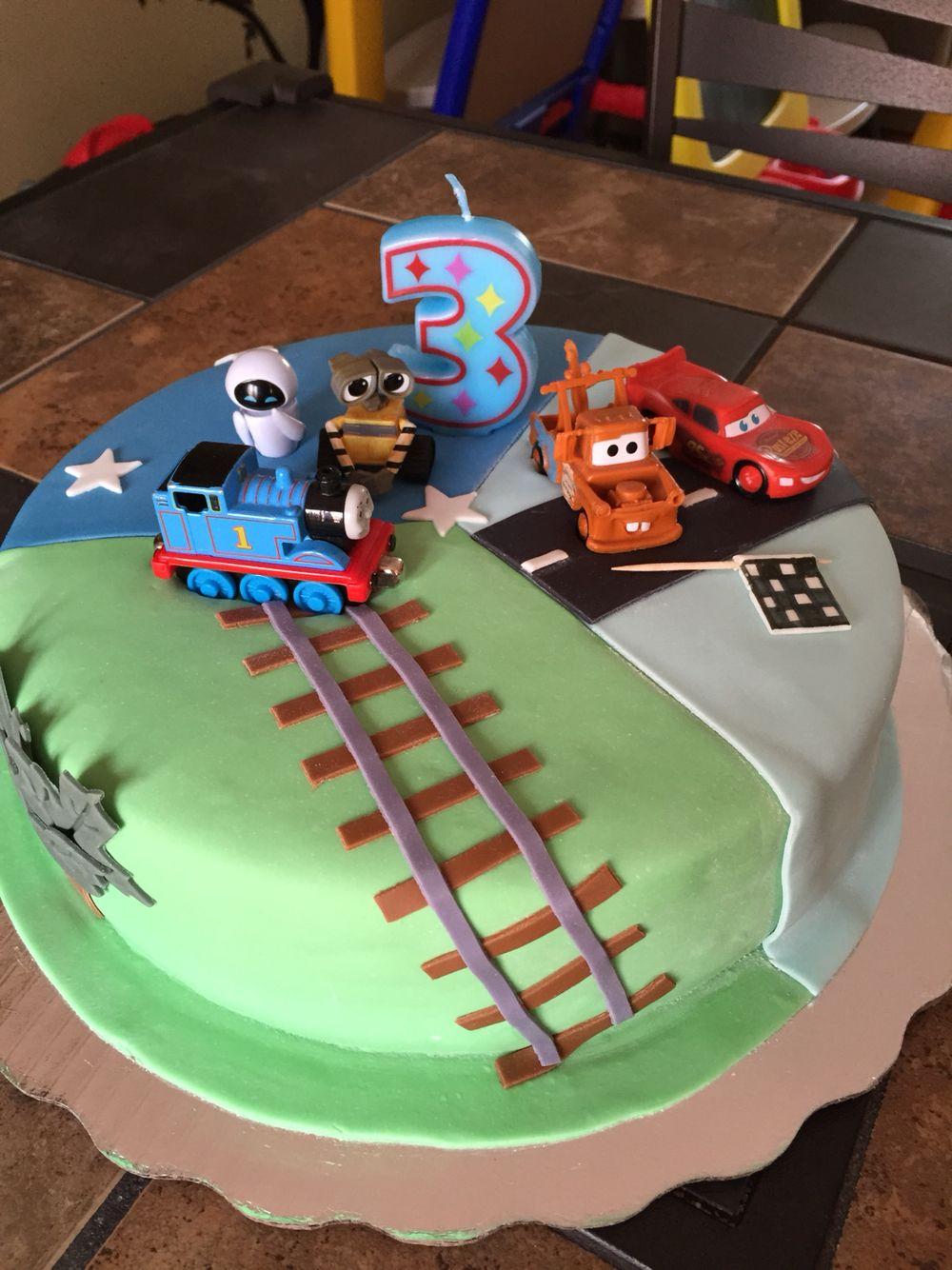 Wall E Party Ideas Themed Birthday Thomas Cake