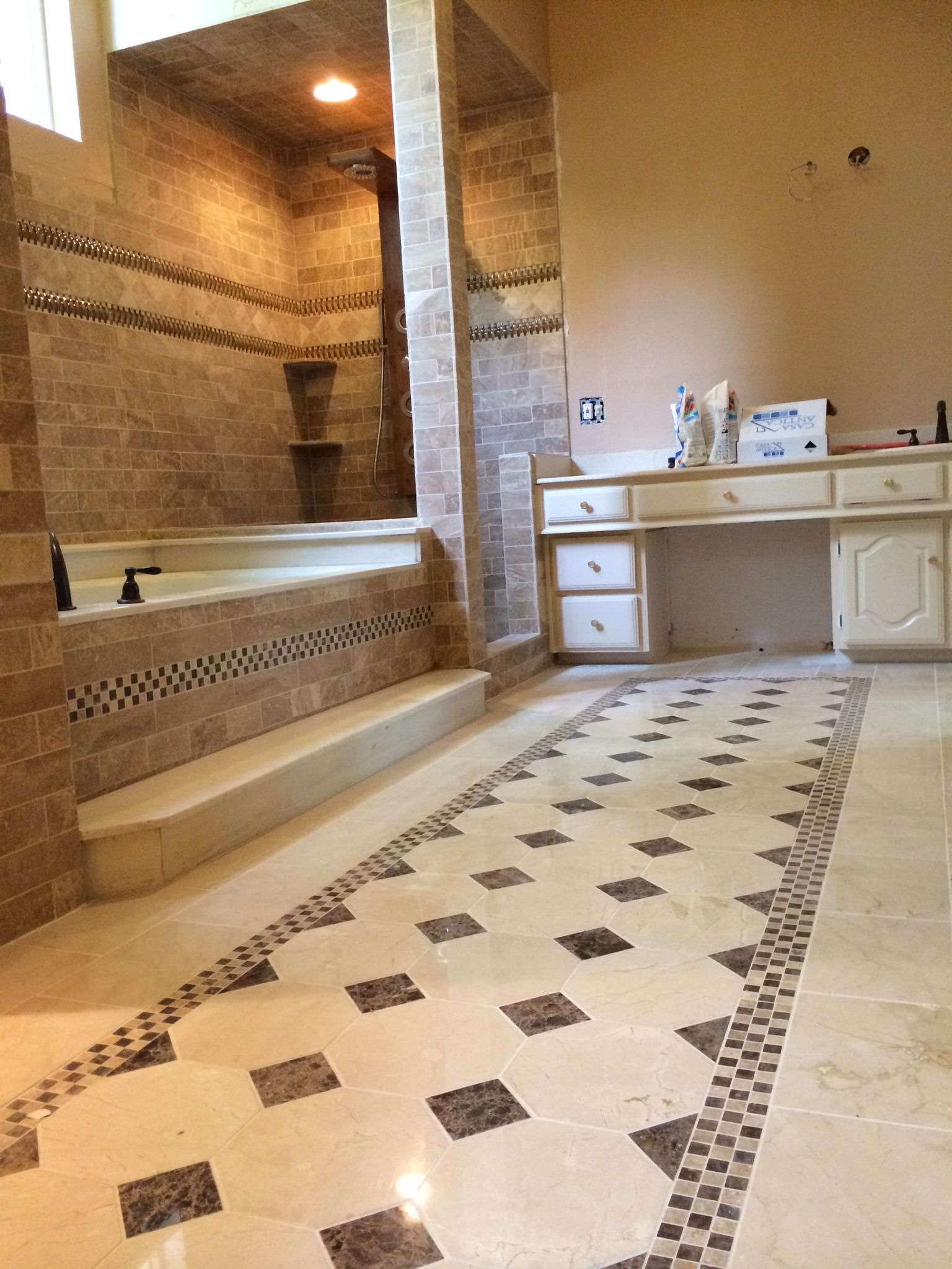 Gorgeos Tile Work Travertine Tile Marble Tile Tile Work