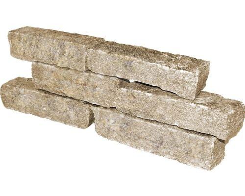 Mauerstein Colori Grau Beige Mauerstein Steine Mauer