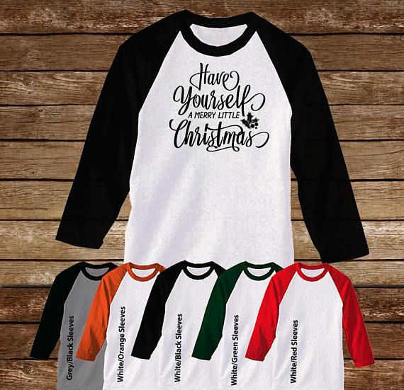 Have yourself a Merry little Christmas.  Raglan