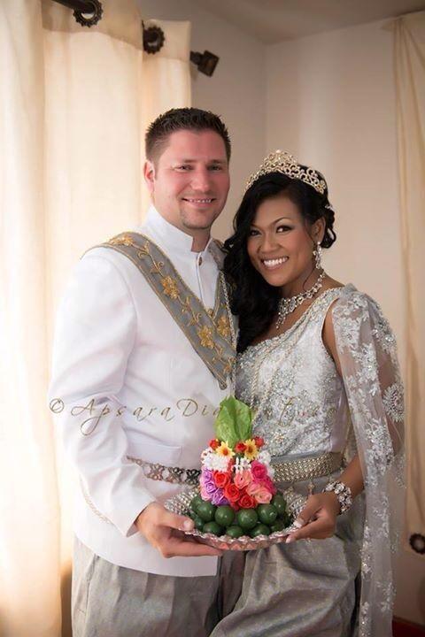 Cambodian Wedding Dress for Men