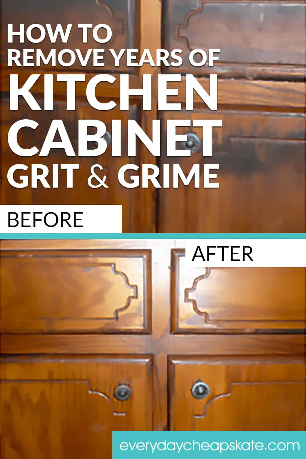 When Did You Last Look At Your Kitchen Cabinets Not A Passing Glance But An Up Close Visual Study Payi Cleaning Cabinets Cleaning Wood Cabinets Cleaning Wood