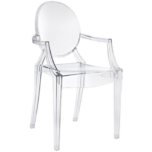this would look great in my white pad // kartell louis ghost chair