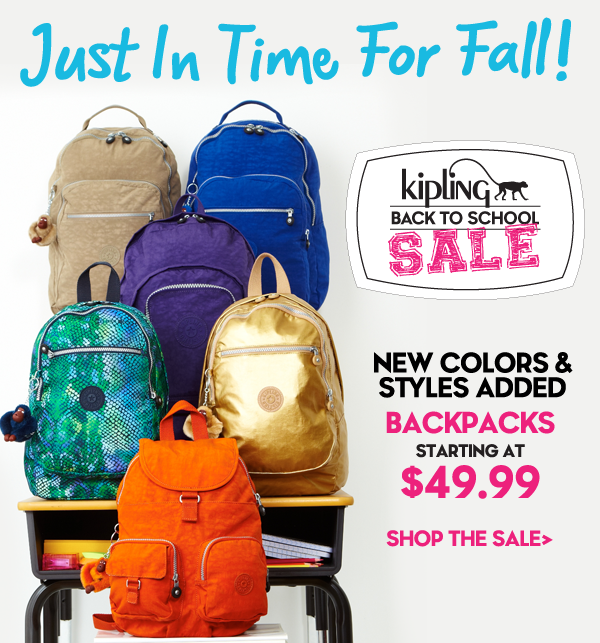 New Fall Colors Added To Our Back To School Sale!