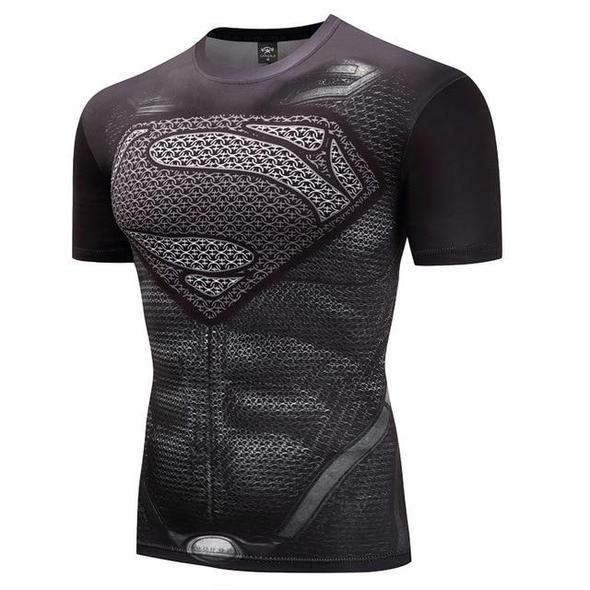 Black Panther Fitness Bodybuilding Compression Shirt Men Anime Rashgar Eticdress Compression Shirt Men Superman T Shirt Punisher T Shirt