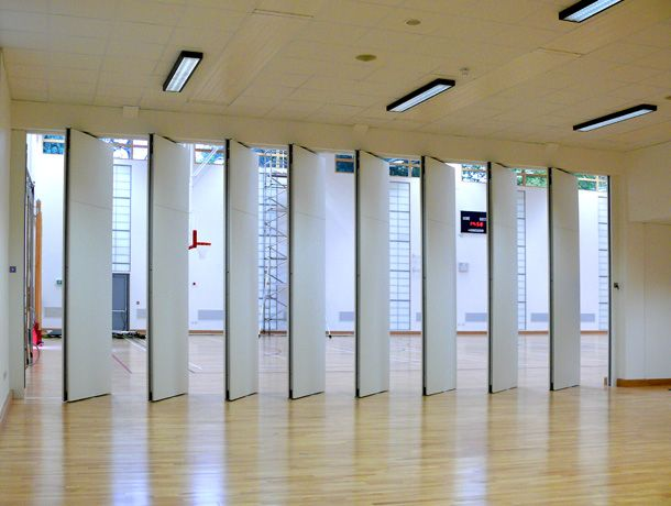 Acoustic Operable Wall Folding Systems Provide A Combination Of Slim Panels And Effective Sound Attenuation Up To 5b