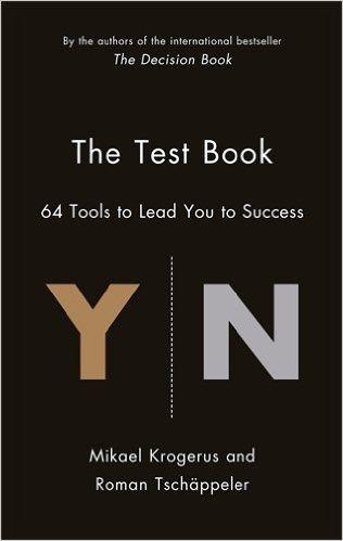 The Test Book: 64 Tools to Lead You to Success: Mikael Krogerus: 9781781253205: Amazon.com: Books