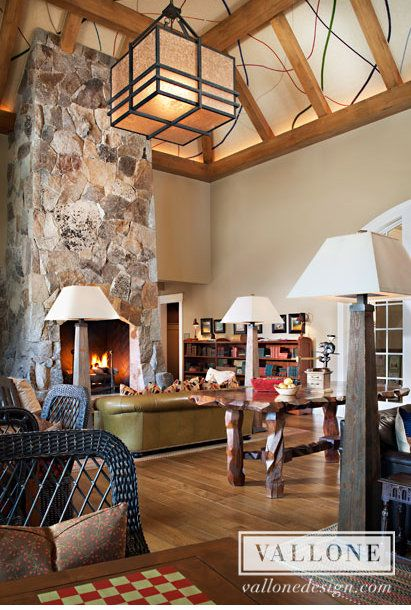 Martis Camp Lodge Interior Design By Kim Anderson Of Vallone