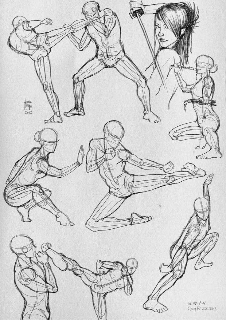 Artes 10 Referencias Para Peleas Epicas Neoverso Anime Y Comics Dibujos Con Figuras Dibujo De Personajes Dibujos Figura Humana