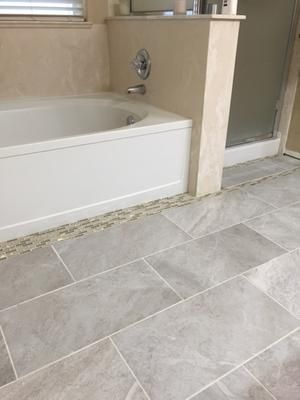 Style Selections Classico Travertine Taupe Glazed Porcelain Floor