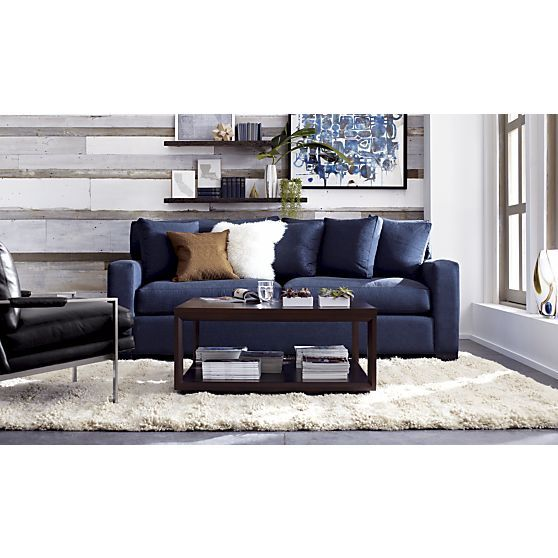 Bryant Square Coffee Table In Side, Coffee Tables | Crate And Barrel