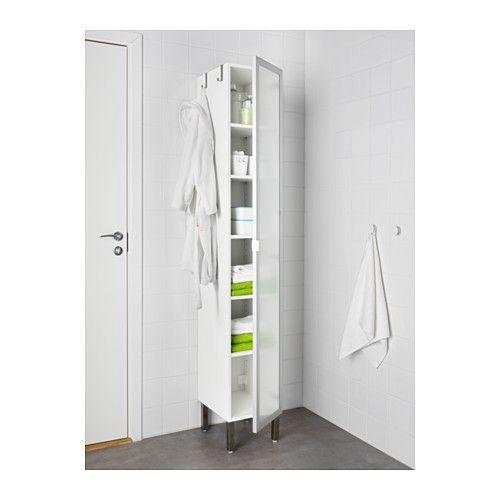 Lillangen Armoire Haute 1 Porte Blanc 11 3 4x15x76 3 8 30x38x194 Cm Meuble Rangement Salle De Bain Ikea Armoire Salle De Bain