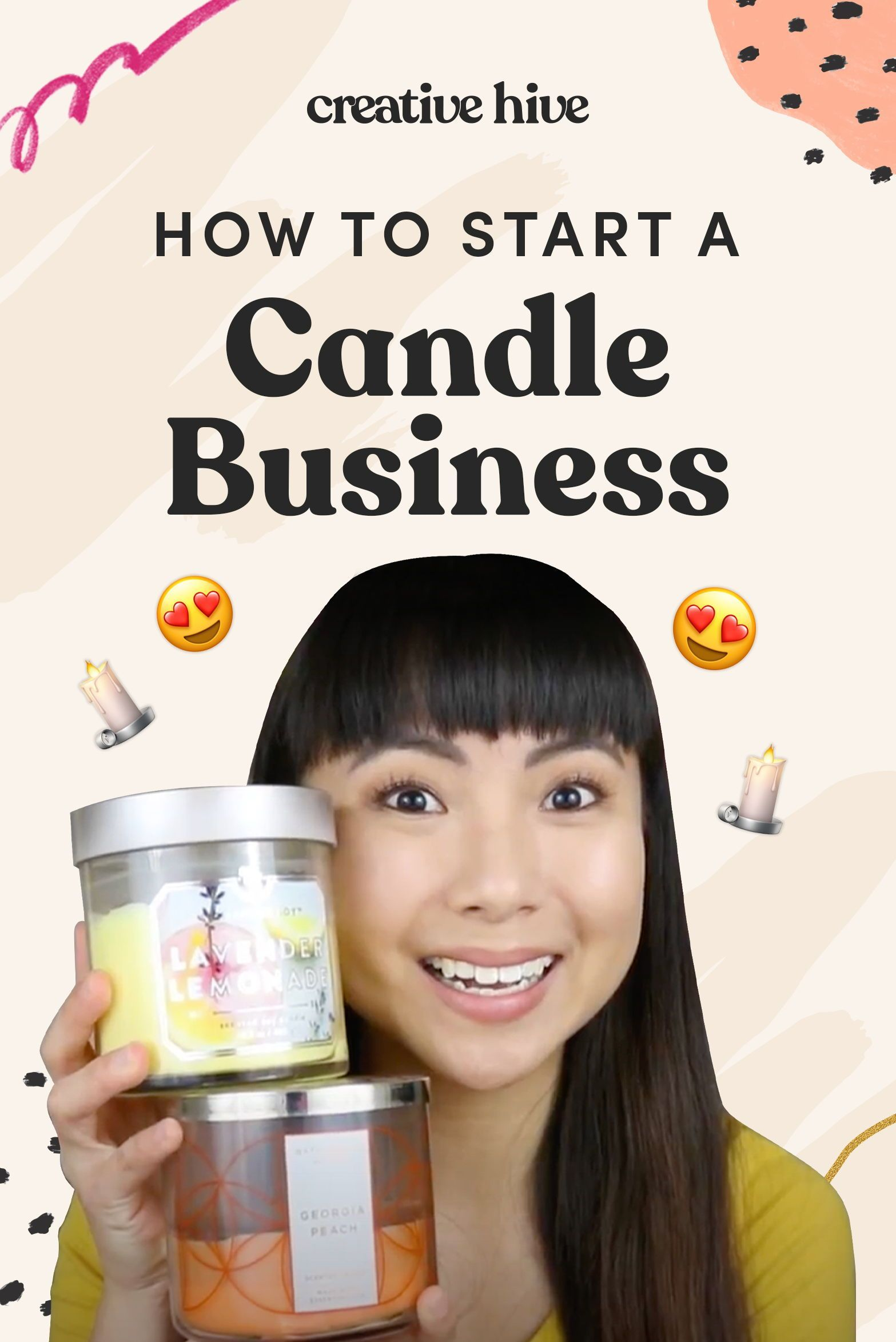 How To Start A Candle Business Candle Business Handmade Business Handmade Candles