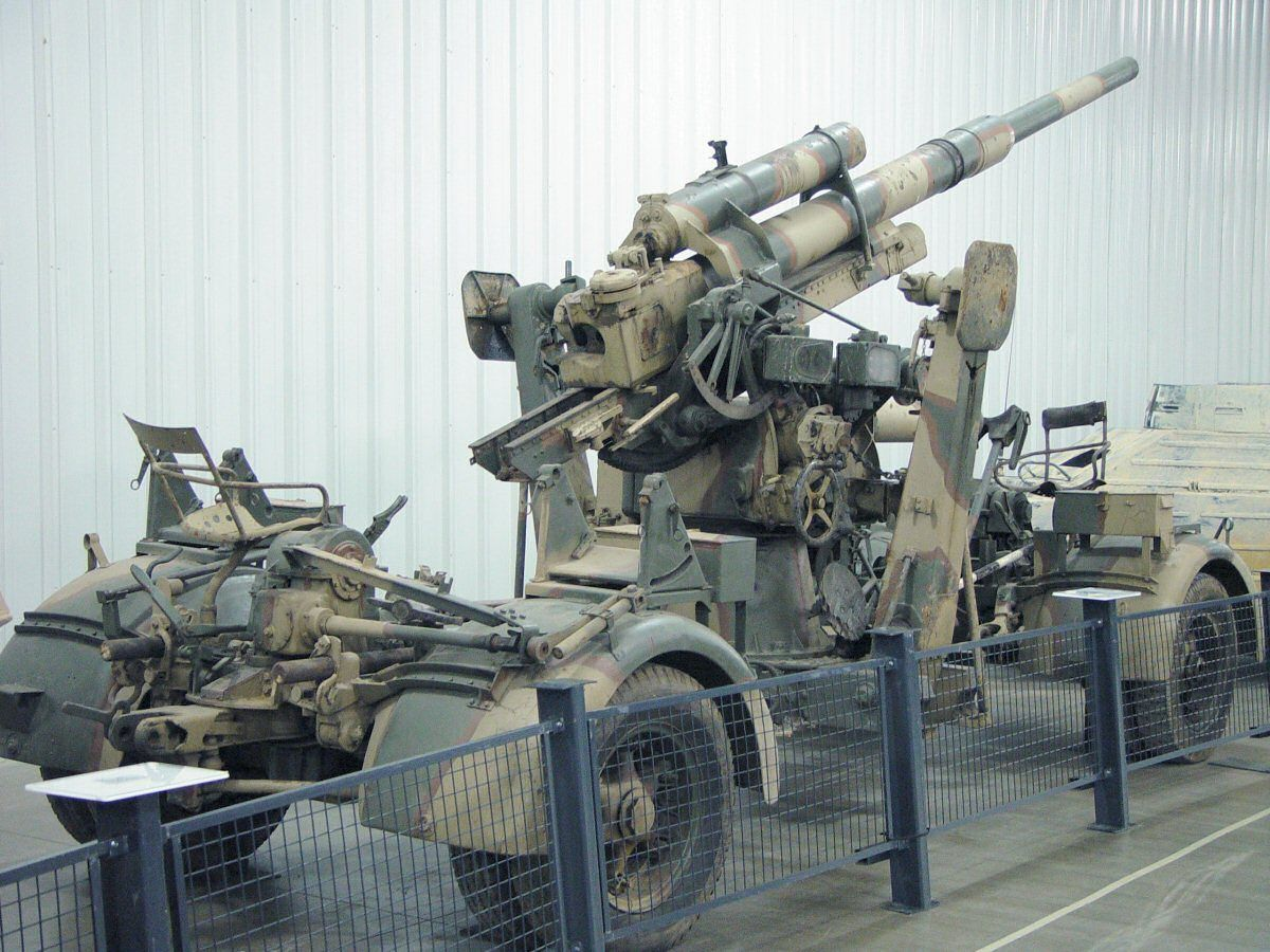 German 50 Mm Anti Tank Gun: Photo Walk, Guns
