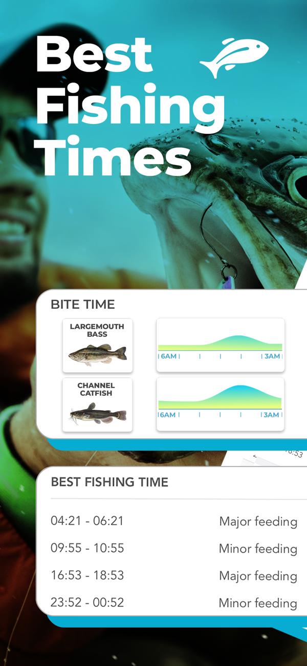 Fishing Forecast App Fishbox on the App Store nel 2020