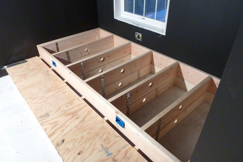 7a3d5d60c6d56e5e580314b889dd5a8e Double Seating Home Theater Riser Plans on