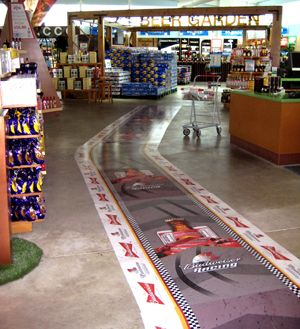 Retail Floor Graphic