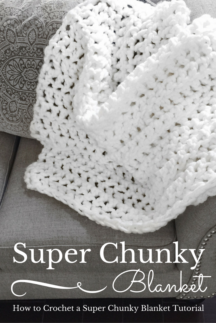 How To Crochet The Super Chunky Instagram Blanket Crochet Knit