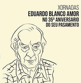 Eduardo Blanco Amor no 35º aniversario do seu pasamento en Liceo de Ourense, Ourense