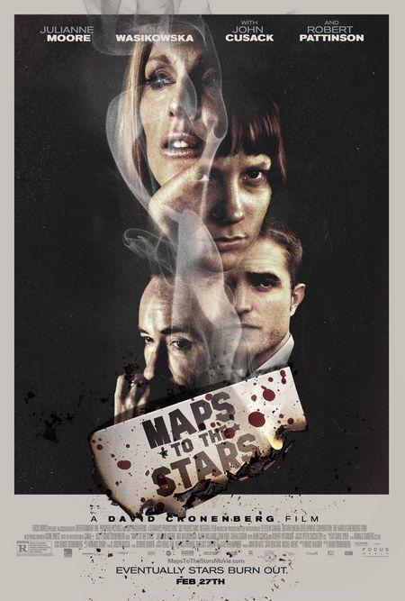 Mapa para as estrelas (2014) ★★ - Um filme algo decepcionante pelos excessos da trama que deixam o filme inverosímel. Uma pena...