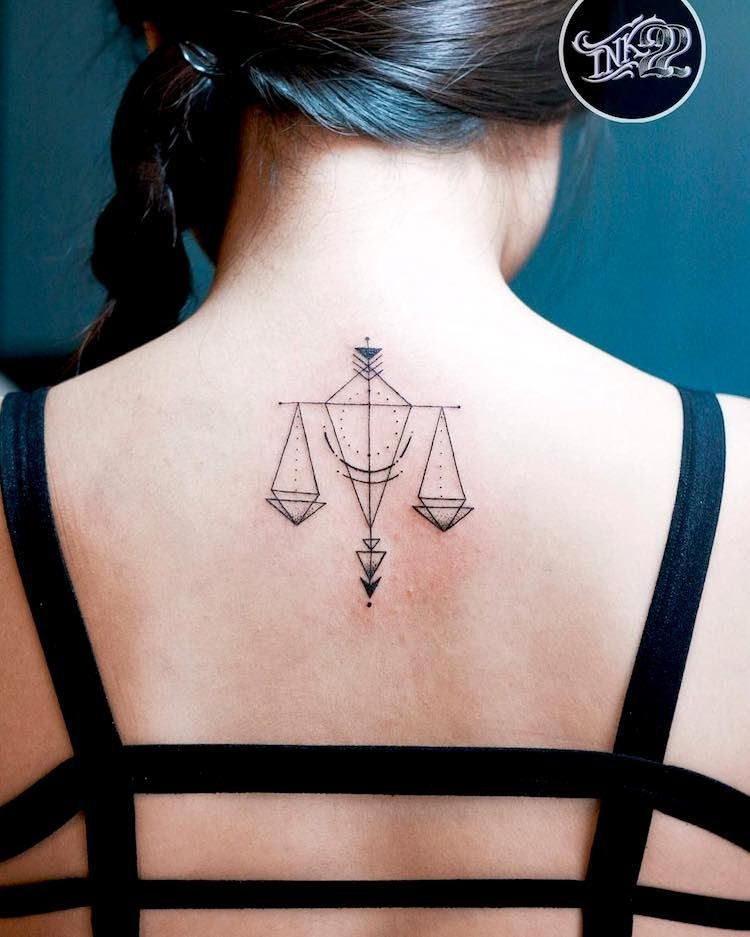 37 Gorgeously Libra Tattoo Ideas That Will Make Other Signs