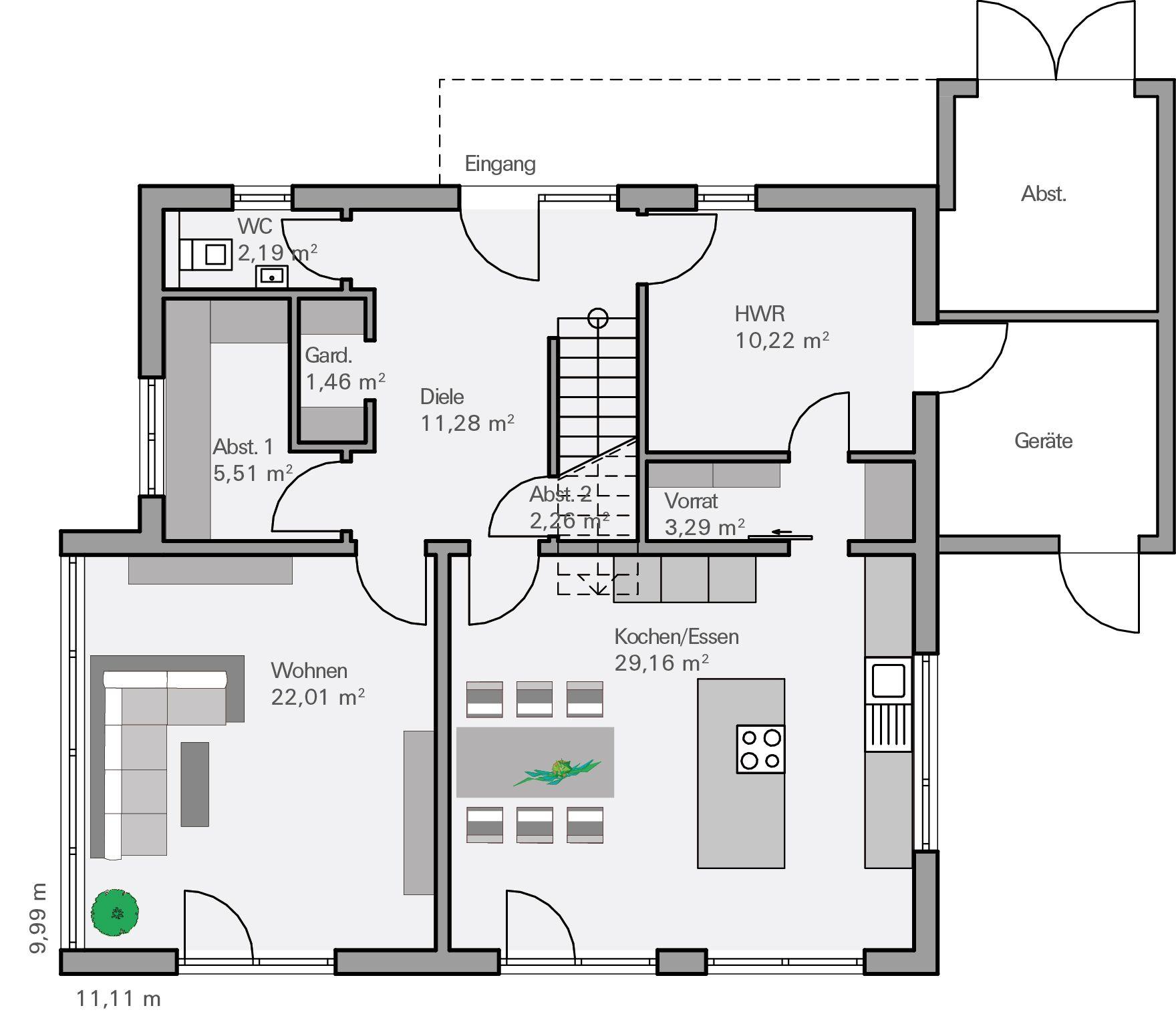 HUF Haus Grundriss EG | Fachwerk von HUF Haus | Pinterest | Haus
