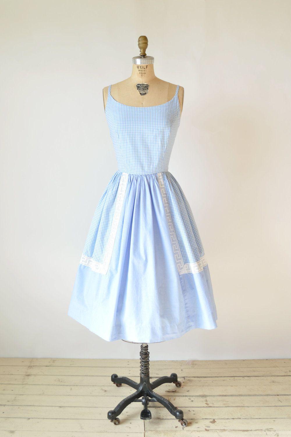 Shop vintage summer dresses gingham and summer