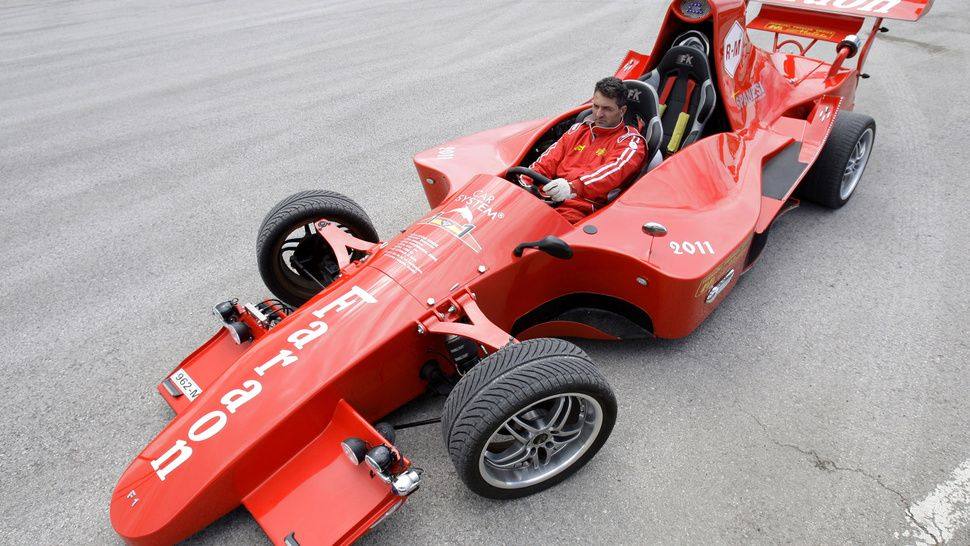 Homemade f1 car car toy car motorsport